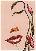 Mouth of the Flower - Cross Stitch Pattern