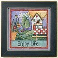 Enjoy Life - Cross Stitch Kit