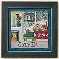 Cozy In - Cross Stitch Kit