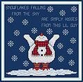Snow Kisses - Cross Stitch Pattern