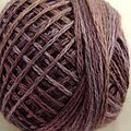 Valdani 3-Ply Thread - Antique Violet