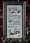 Jingle Bells Tree Farm - Cross Stitch Pattern