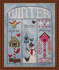 Winter Homes - Cross Stitch Pattern