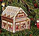 Gingerbread Retreat Cottage - Cross Stitch Pattern